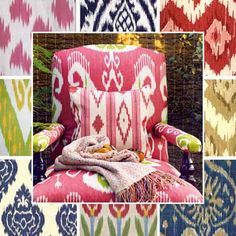 ikat-patterns-geometric-ornament-design-trends