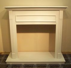 Majestic CFM Wall Cabinet for Gas Fireplace Insert 36in Primed White New | eBay