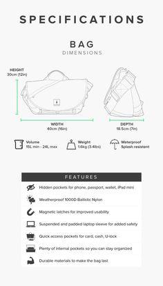 7ven Messenger  The Only Bag You Need.   Indiegogo Backpack Bags, Designer  Backpacks 8bd6dee784