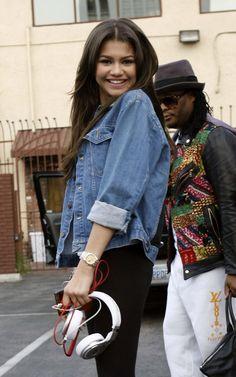 Zendaya Coleman - Dancing With The Stars Rehearsal in LA