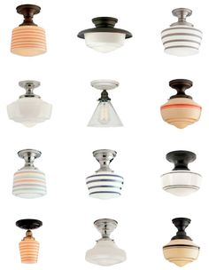 Portland Company: Schoolhouse Electric - must have lighting!