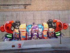 Great street art by David Choe