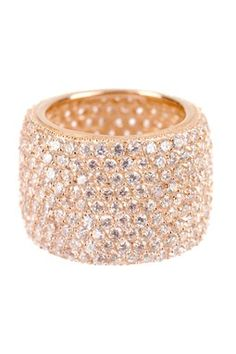 Wide Eternity Band