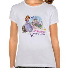 Personalized Princess Sofia Shirt