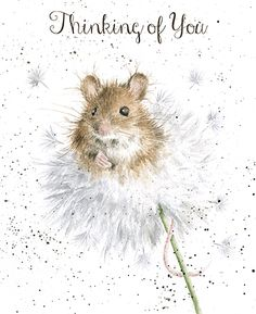 Mouse & Dandelion | Wrendale Designs