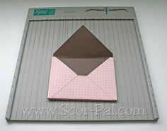 """Envelobox"""" for A2 Card    Perfect for bulky cards"""
