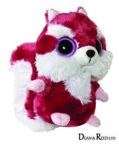 """Yoohoo And Friends 5"""" Chewoo Squirrel Plush Cuddly Soft Toy Teddy By Aurora"""