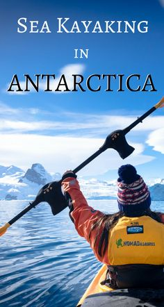 This should be on everyone's bucket list. It is one of the best things to do in Antarctica. When you are visiting Antarctica add sea kayaking to your activities and you will be blown away.