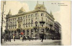 Siedziba Domu Mody Bogusława Hersego przy ul. Marszałkowskiej 150 (zdjęcie z katalogu firmy z 1899 r.)