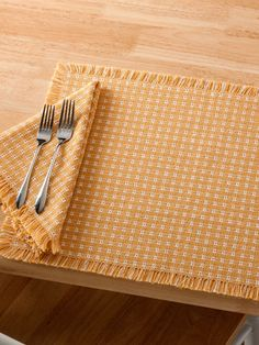 b3bbb627a724 Mountain Weave All Cotton Place Mats