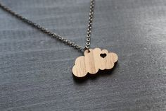 I heart clouds. by truche on Etsy, $22.00