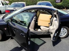 Remember these funny designs? Keetsa VS A 3-door Saturn coupe~! at Keetsa Mattress Berkeley Store.