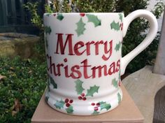 Personalised Little Holly 0.5 Pint Mug 2016