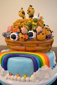 Noahs Ark Cake!