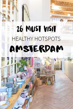 "Looking for healthy hotspot in Amsterdam? Luckily there are many bars & restaurants that serve healthy dishes. On travel blog http://www.yourlittleblackbook.me you can find a list 28 healhty hotspots. Planning a trip to Amsterdam? Check http://www.yourlittleblackbook.me/ & download ""The Amsterdam City Guide app"" for Android & iOs with over 550 hotspots: https://itunes.apple.com/us/app/amsterdam-cityguide-yourlbb/id1066913884?mt=8 or…"