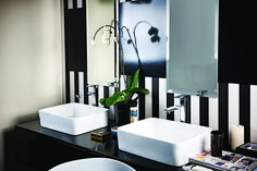Modern Bathroom Taps and Accessories by Grohe – You'll find it @ www.plumbitonline.co.za Bathroom Taps, Modern Bathroom, Basin, Design Ideas, Accessories, Home Decor, Room Decor, Home Interior Design, Bathroom Modern