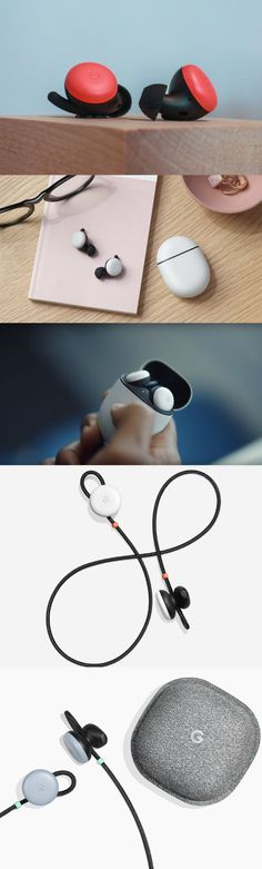 The new Google Pixel Buds Bluetooth Earbuds sleekly float in your ear. Appearing as a small circle that is flush with your ear, these Google earbuds provide hands-free Google Assistant access. Additionally, these new Pixel Buds offer an updated long-range Bluetooth connection.