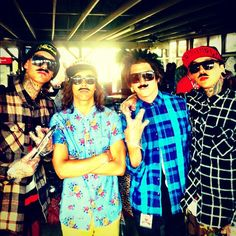 mustach'd #PTV #PierceTheVeil