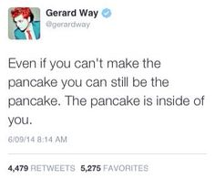 Gerard's words of wisdom