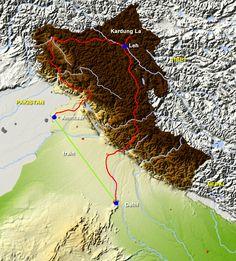 Noord-India Himalaya Kashmir - Avontuurlijke motorreizen