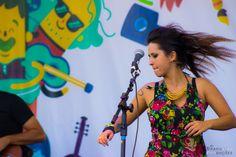 """Estrela Leminski com o super show """"Leminskanções"""" na Corrente Cultural - 2014"""