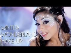 Whimsical Winter Wonderland make-up look in Charis' make-up tutorial on FAWN.