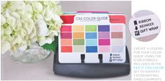TIP: organize your colors in a color-dex using the Stationery Filer dies and our File It: Color stamp set...