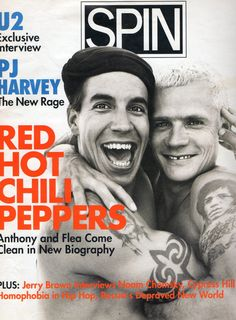Anthony and Flea youtubemusicsucks.com #redhotchilipeppers