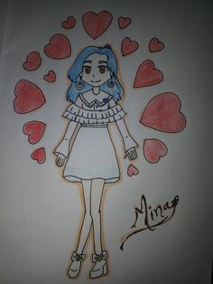 TWICE MINA candy pop anime version