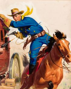 pulp western art | Pulp Art