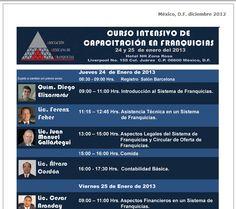 Curso Intensivo de Capacitación en #Franquicias por la @AMFranquicias