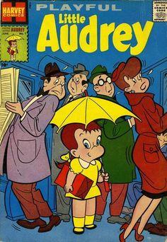 Little Audrey vintage comic book.