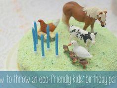 Eco-friendly kids' birthday partyVillage Voices