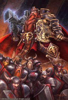 Warcraft - Magni Bronzebeard by SamwiseDidier.deviantart.com on @deviantART
