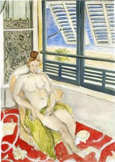 Henri Matisse (1869 - 1954)   Expressionism   Nude