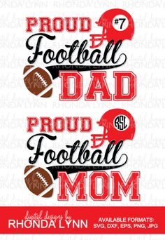Football Mom Shirts, Football Cheer, Cheer Shirts, Football Outfits, Free Football, Dad To Be Shirts, Football Season, Sports Shirts, Football Stuff