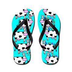 ff cows.PNG Flip Flops > Fip Flops > NurseRTthings