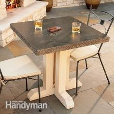 How to Build an Outdoor Table | The Family Handyman