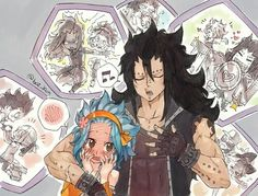 You are doing so many things for each other. I know your in love.♥ Gajeel x Levy