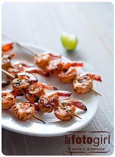 Tequila Grilled Shrimp!