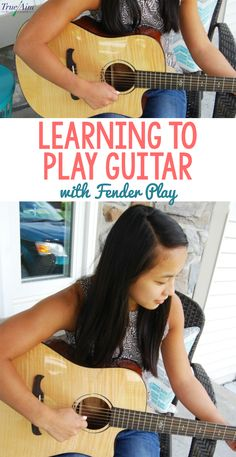 Learning to Play Guitar with Fender Play Basic Guitar Lessons, Music Lessons, Violin Lessons, Fender Acoustic Guitar, Violin Online, Yamaha Bass, Guitar Sheet Music, Learn To Play Guitar, Kids Learning Activities