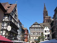 Estrasburgo: La Gran Isla Alsacia Francia.