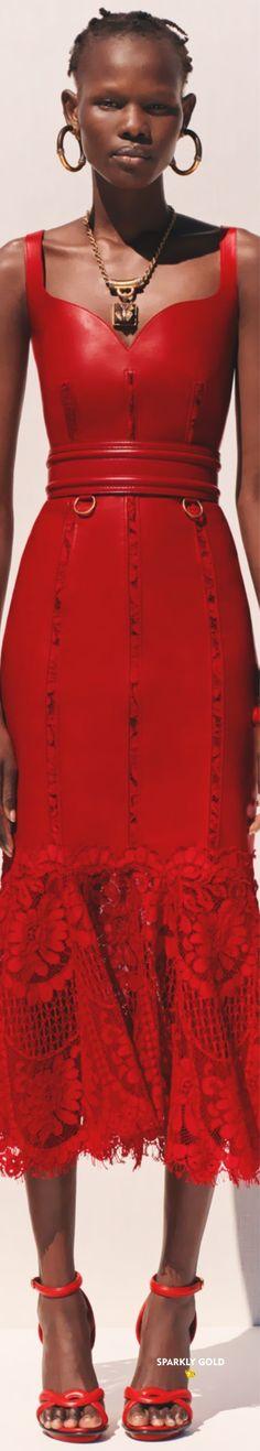 Alexander McQueen Resort 2020 | Sparkly Gold :: Alexandre Mcqueen, Alexander Mcqueen Couture, Mc Queen, Fashion Brand, Peplum Dress, Cherry, Hot, Collection, Dresses