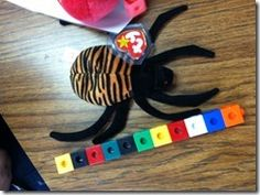 nonstandard measurement idea - measuring beanie babies - oooh good idea!