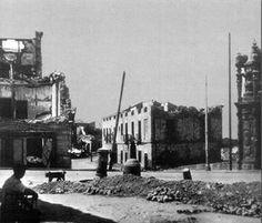 Glorieta del Marqués de Vadillo al finalizar la guerra.. 1940