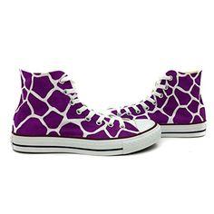Converse All Star Purple Giraffe Pattern Shoes Women Men Hand Painted Sneakers High Top Canvas Converse http://smile.amazon.com/dp/B00YA1ZENS/ref=cm_sw_r_pi_dp_n6hDvb11WFN7T