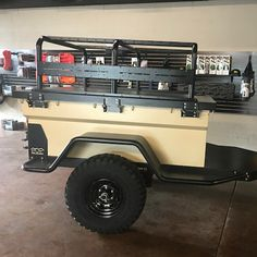 Kayak Bike Trailer, Jeep Camping Trailer, Jeep Tent, Truck Bed Trailer, Bug Out Trailer, Off Road Camper Trailer, Trailer Build, Adventure Trailers, Best Trailers