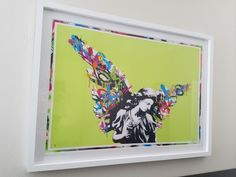 Martin Whatson Angel 2013 Lime Green Edition of 10 Street Art Print Banksy Banksy, Cool Art, Graffiti, Street Art, Lime, Angel, Art Prints, Cool Stuff, Green
