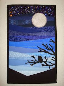 "Lia*s Handmades: ""Beneath a Silver Light"" - Project Quilting Challenge 5"