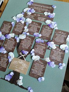 Woodland Fairytale Table Plan